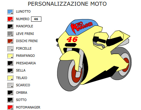 In MotoManager puoi personalizzare la tua moto