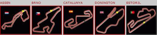 In MotoManager si corre su circuiti reali